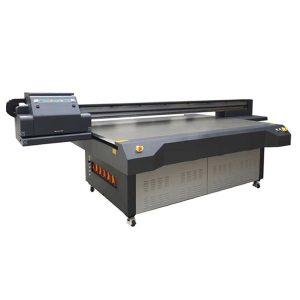 2.5m * 1.3m high definition ricoh gen 5 digital uv flatbed glass printer
