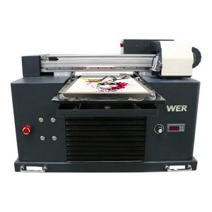 a4 dtg flatbed cotton fabric printer machine printing t-shirt