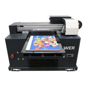2019 new dx5 head flatbed printer a3 size uv led machine printing