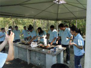 BBQ in Gucun Park