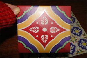 Sample of ceramic printed on A2 UV printer WER-D4880UV