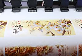 Xweşandina xweseriya Vinyl ji hêla 1.8m (6 feet) printera ekco solvent wER-ES1802